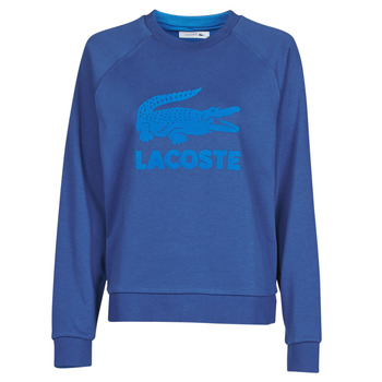 Clothing Women Sweaters Lacoste SF5640 Marine