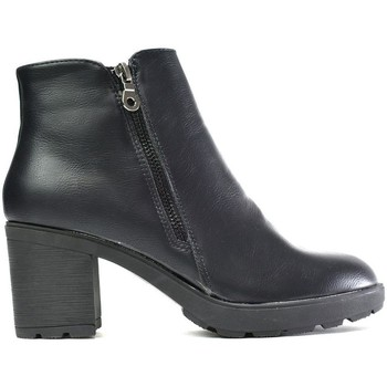 Shoes Women Boots Reveal Love Your Look The Everyday Block Heel Ankle Boot Black