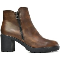 Shoes Women Boots Reveal Love Your Look The Everyday Block Heel Ankle Boot Brown