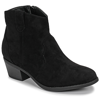 Shoes Women Mid boots Moony Mood NINITE Black