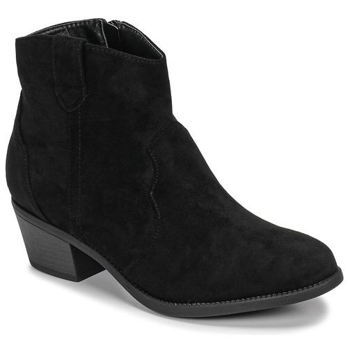 Shoes Women Mid boots Moony Mood NINITE Black