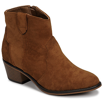 Shoes Women Mid boots Moony Mood NINITE Camel