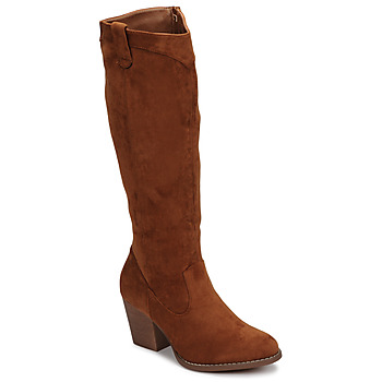 Shoes Women High boots Moony Mood NOEMA Camel