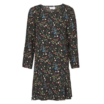 Clothing Women Short Dresses Betty London NELLY Black / Multicolour