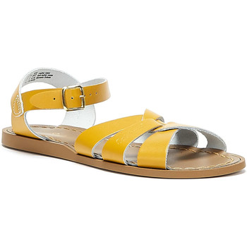 Shoes Women Sandals Salt Water Original Womens Mustard Yellow Sandals Yellow