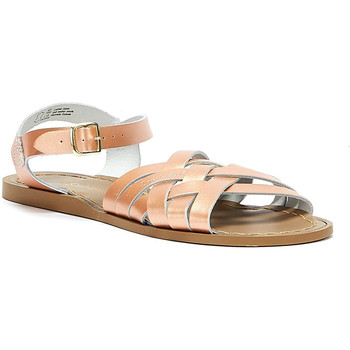 Shoes Women Sandals Salt Water Retro Womens Rose Gold Sandals Metallic