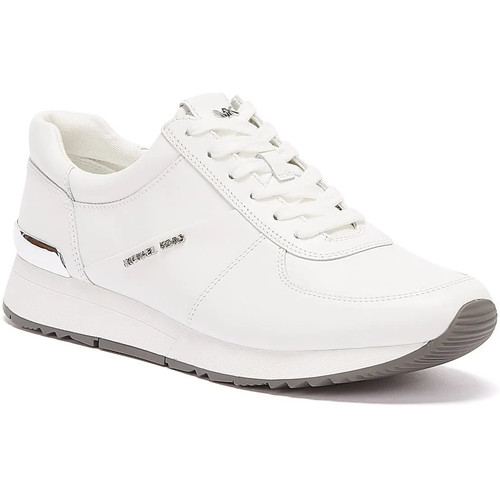Shoes Women Fitness / Training MICHAEL Michael Kors Allie Womens White Trainers White