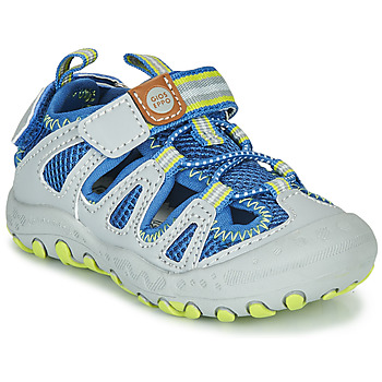 Shoes Children Outdoor sandals Gioseppo MEXICALI Grey / Blue
