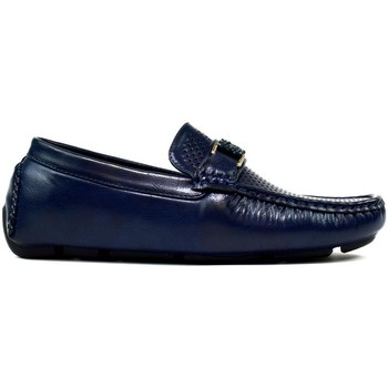 Shoes Men Loafers Classique Men's Perforated Loafers Navy