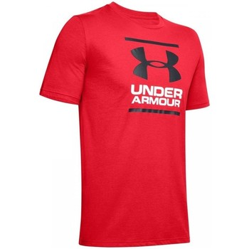 Clothing Men short-sleeved t-shirts Under Armour GL Foundation Red