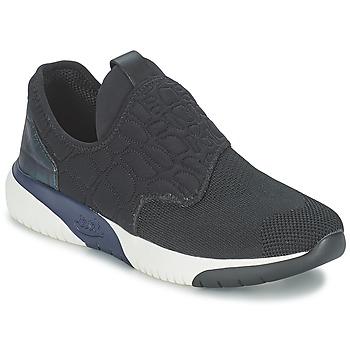Shoes Women Low top trainers Ash SODA Black / Blue