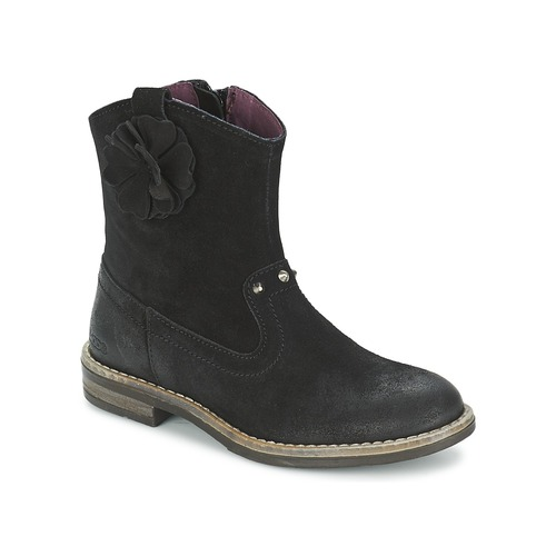 Shoes Girl Mid boots Mod'8 NOLA Black