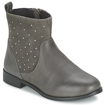 Shoes Girl Mid boots Citrouille et Compagnie BANMAL Grey