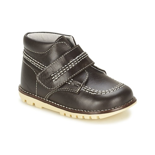 Shoes Boy Mid boots Citrouille et Compagnie MELIN Brown