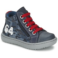 Shoes Boy Hi top trainers Citrouille et Compagnie MINAI Blue
