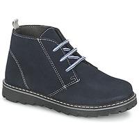 Shoes Boy Mid boots Citrouille et Compagnie LEQUIN Blue