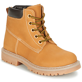 Shoes Children Mid boots Citrouille et Compagnie AUGUST Yellow