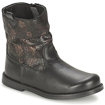 Shoes Girl High boots Citrouille et Compagnie JOUGRI Black