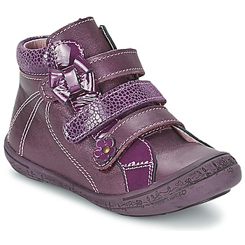 Shoes Girl Hi top trainers Citrouille et Compagnie FALIE Purple