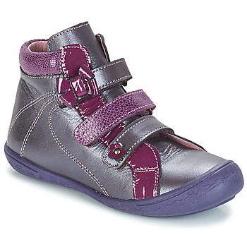 Shoes Girl Mid boots Citrouille et Compagnie FALIE Purple