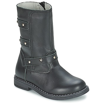 Shoes Girl High boots Citrouille et Compagnie ELZA Black