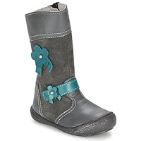 Shoes Girl High boots Citrouille et Compagnie RINDAR Grey
