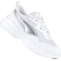 Shoes Women Low top trainers Puma Cilia White, Silver