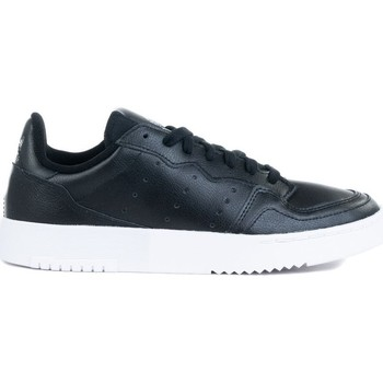 Shoes Children Derby Shoes & Brogues adidas Originals Supercourt J White, Black