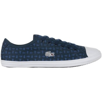 Shoes Women Low top trainers Lacoste Ziane Sneaker 116 2 Spw White, Navy blue