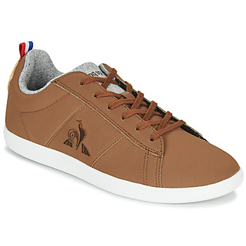 Shoes Low top trainers Le Coq Sportif COURTCLASSIC GS Brown