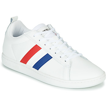 Shoes Low top trainers Le Coq Sportif COURTCLASSIC FLAG White