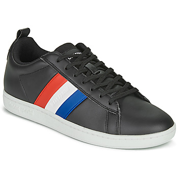 Shoes Low top trainers Le Coq Sportif COURTCLASSIC FLAG Black