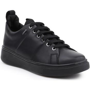 Shoes Women Low top trainers Geox D Mayrah B ABX C D643MC-00085-C9999 black