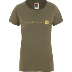 Clothing Women Short-sleeved t-shirts The North Face I Nse Olive