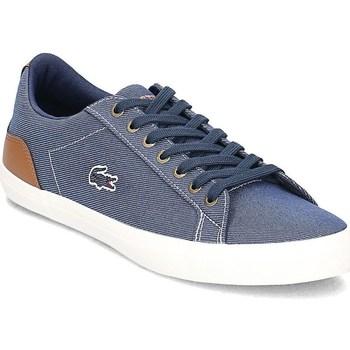 Shoes Men Low top trainers Lacoste Lerond Blue