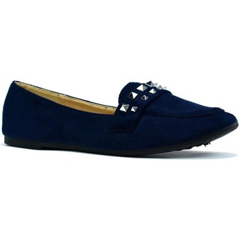 Shoes Women Flat shoes Reveal Love Your Look Ladies flat studded shoe Navy