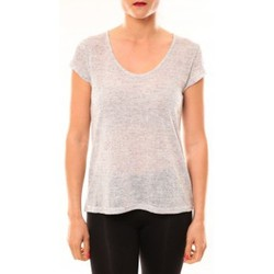 Clothing Women Short-sleeved t-shirts Meisïe T-Shirt 50-606SP15 Gris clair Grey