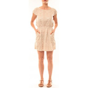 Clothing Women Short Dresses Meisïe Robe V6-710SP15 Beige Beige
