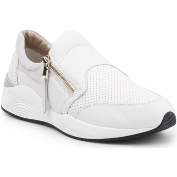 Shoes Women Slip-ons Geox D Omaya A D620SA-00085-C1000 beige