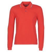 Clothing Men Long-sleeved polo shirts Casual Attitude NILE Red