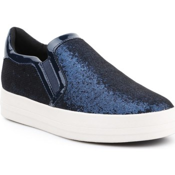 Shoes Women Low top trainers Geox D Hidence A D6434A-0EWHH-C4429 navy