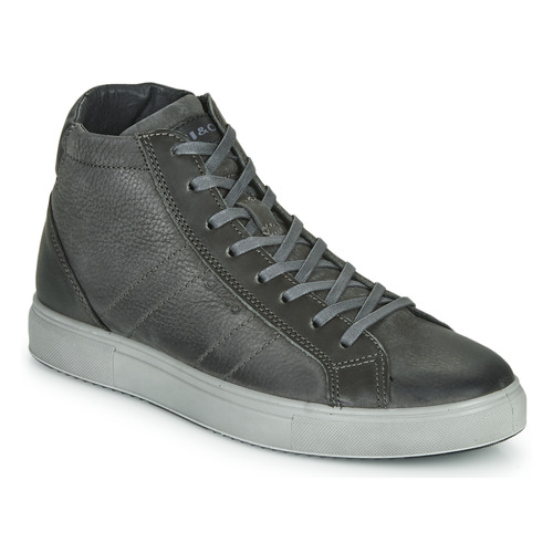 Shoes Men Hi top trainers IgI&CO UOMO SASHA Grey