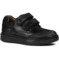 Shoes Boy Low top trainers Geox J847SF-43-C9999-26 J Riddock B. F Black