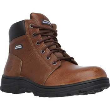 Shoes Men Mid boots Skechers SK77009EC-39 Workshire Brown