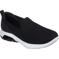 Shoes Women Slip-ons Skechers 16099BKW3 Gowalk Air Black and White