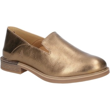Shoes Women Loafers Hush puppies HW06568-710-3 Bailey Slip On Antique Gold Leather