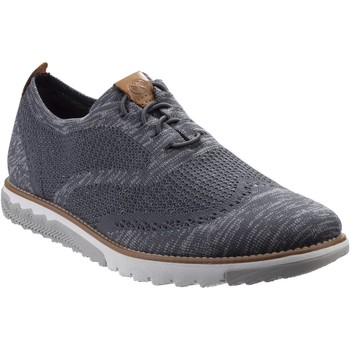 Shoes Men Derby Shoes Hush puppies HM02087-021-6 Expert Wingtip Dark Grey Multi Knit