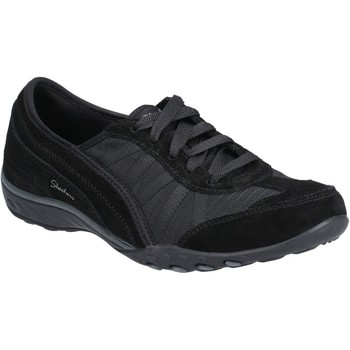 Shoes Women Low top trainers Skechers SK23845-BLK-3 Breathe-Easy-Weekend Wishes Black