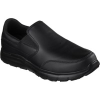 Shoes Men Loafers Skechers SK77071EC Flex Advantage Black