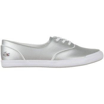 Shoes Women Low top trainers Lacoste Lancelle 3 Eye Silver